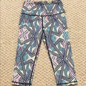 VS patterned workout pants
